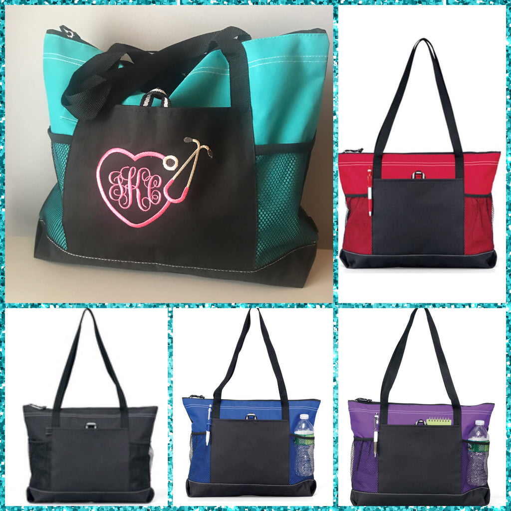 Career Monogram Tote