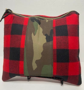 Buffalo Plaid and Camo Mix