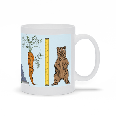 Only In Dreams Are Carrots As Big As Bears Mug