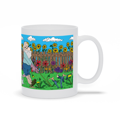 Fools And Weeds Grow Without Rain Mug