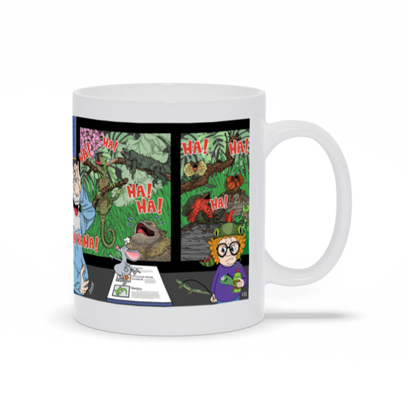 May You Laugh With The Lizards Mug