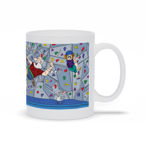 Where Are You Climbing With Your Crooked Feet Mug
