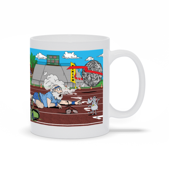 You Can't Outrun The Moon Mug