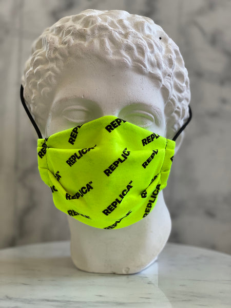 Yellow Logo Mask