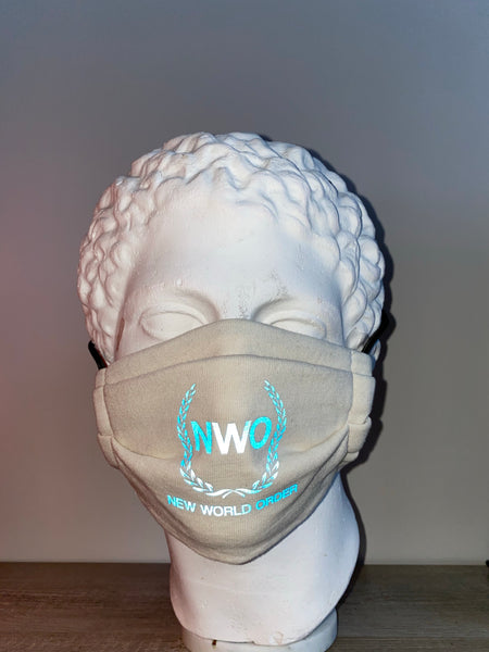NWO Reflective Mask Off White