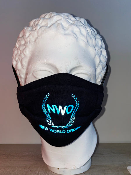 NWO Reflective Mask Black