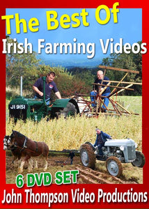"""The Best of Irish Farming Videos"" 6 DVD Boxset Collection"