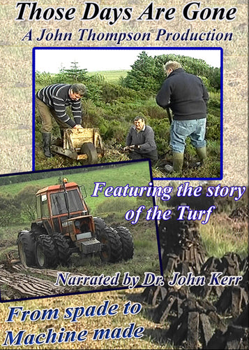 The story of Turf Cutting in Ireland  – Those Days are Gone