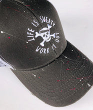 Splatter and Distressed Trucker Hat