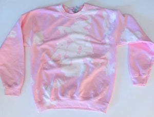"Pink ""Life is Sweaty"" Sweatshirt"