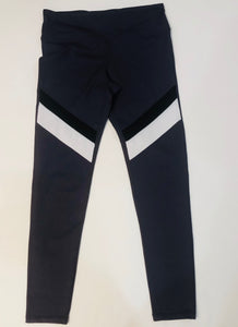 Purple Color Block Legging