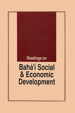 Bahá'í Social and Economic Development