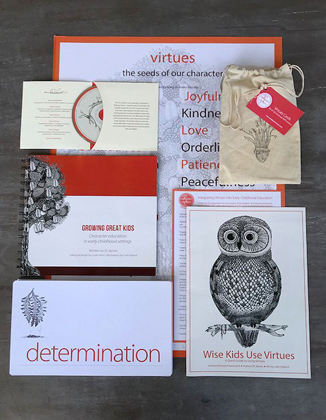 Virtues Pack for Early Childhood Educators