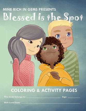 Blessed is the Spot<br>Activity Book