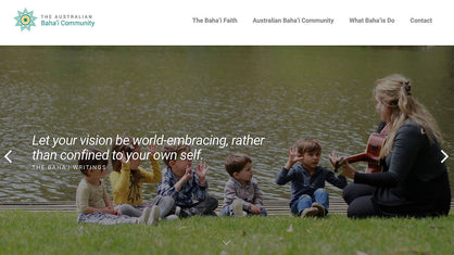 National Baha'i Website