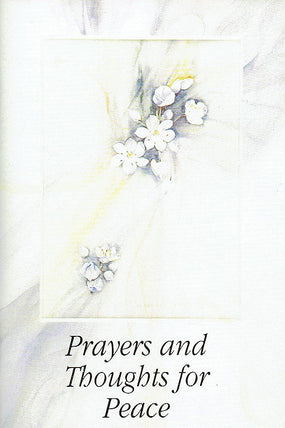 Prayers and Thoughts for Peace (pack)