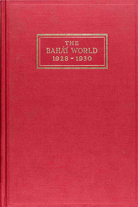 Bahá'í World 1928 - 1930