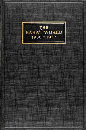 Bahá'í World 1930 - 1932