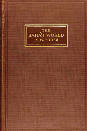 Bahá'í World 1932 - 1934
