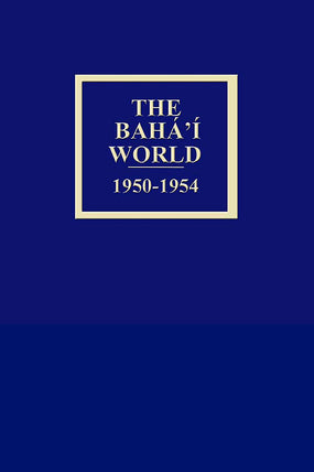 Bahá'í World 1950 - 1954