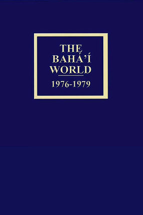 Bahá'í World 1976 - 1979