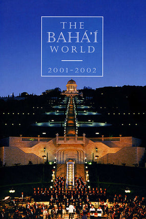 Bahá'í World 2001 - 2002