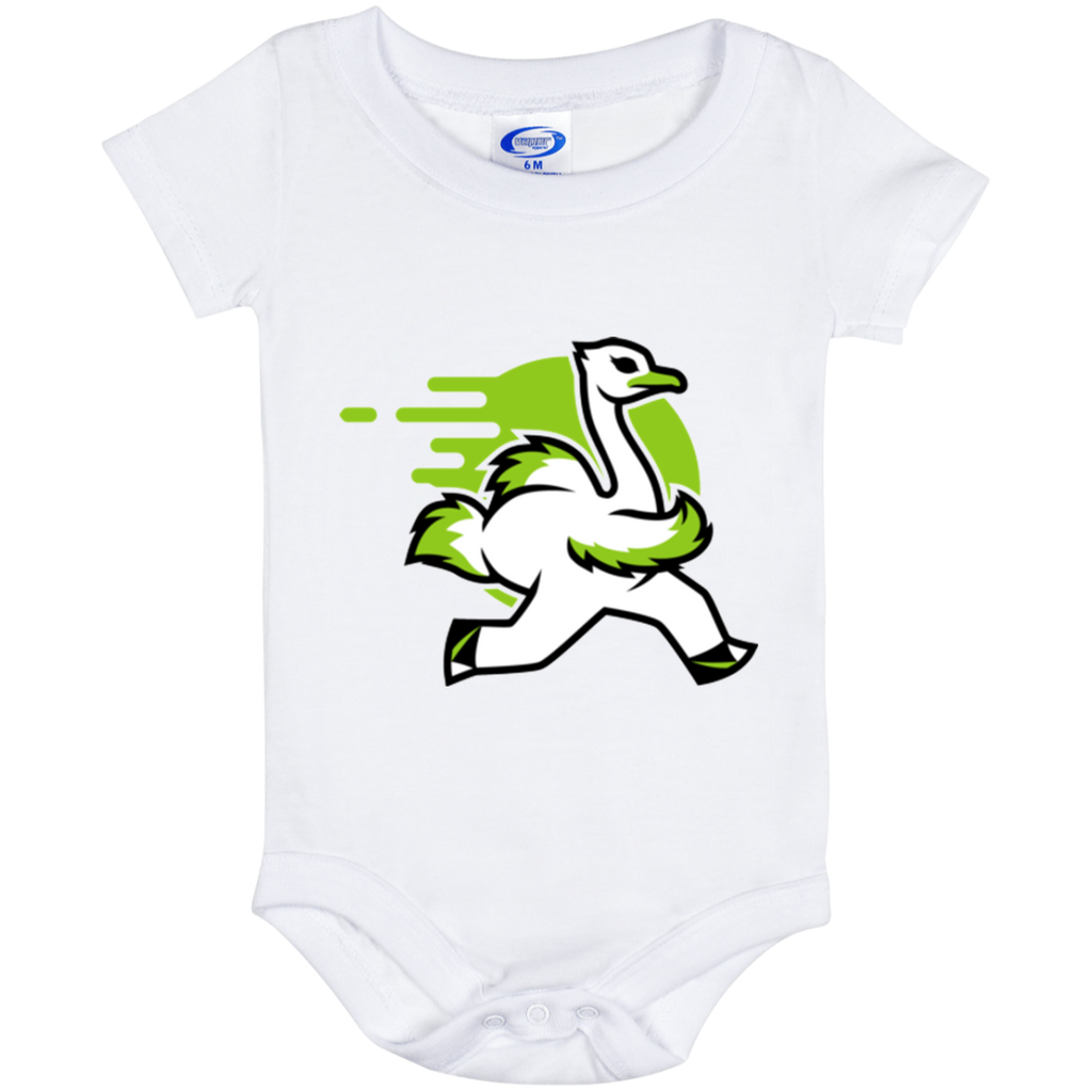 Ostrich - Baby Onesie 6 Month - Ultrakoala Trial, Hiking, Biking and Camping Gear