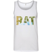 Rat - Men's 100% Ringspun Cotton Tank Top