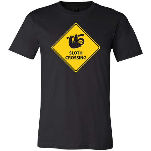 Sloth Crossing Unisex Jersey Short-Sleeve T-Shirt