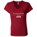 Awesome Lynx - Ladies' Jersey V-Neck T-Shirt - Ultrakoala Trial, Hiking, Biking and Camping Gear