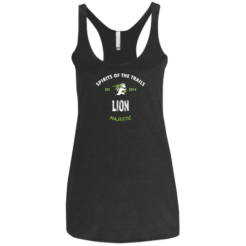 Lion - Est. 2014 Ladies' Triblend Racerback Tank - Ultrakoala Trial, Hiking, Biking and Camping Gear