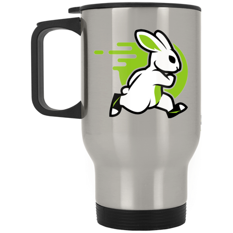 Rabbit - Silver Stainless 14oz Travel Mug