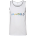 Armadillo - Men's 100% Ringspun Cotton Tank Top - Ultrakoala Trial, Hiking, Biking and Camping Gear