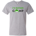 I'd Rather Camp - Men's Printed V-Neck T-Shirt - Ultrakoala Trial, Hiking, Biking and Camping Gear