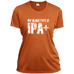 My Blood Type is IPA+ - Ladies' Wicking T-Shirt - Ultrakoala Trial, Hiking, Biking and Camping Gear