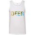 Deer - Men's 100% Ringspun Cotton Tank Top - Ultrakoala Trial, Hiking, Biking and Camping Gear