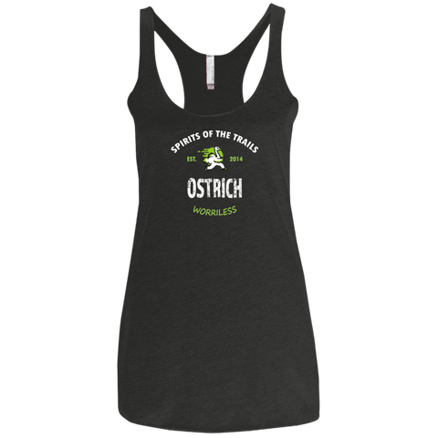 Ostrich - Est. 2014 Ladies' Triblend Racerback Tank - Ultrakoala Trial, Hiking, Biking and Camping Gear