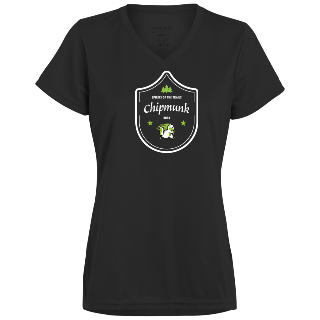 Chipmunk - Medallion 100% polyester Wicking Ladies'  T-Shirt - Ultrakoala Trial, Hiking, Biking and Camping Gear