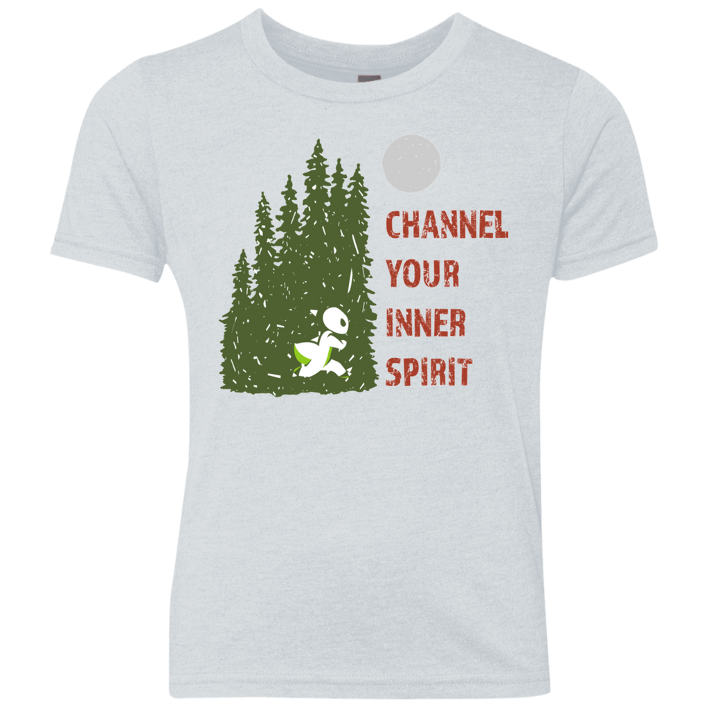 Ant - Channel Your Inner Spirit Boys Triblend Crew - Ultrakoala Trial, Hiking, Biking and Camping Gear