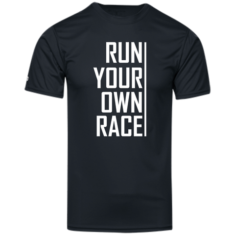 Run Your Own Race - Men's Moisture Wicking T-Shirt
