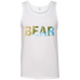 Bear - Men's 100% Ringspun Cotton Tank Top - Ultrakoala Trial, Hiking, Biking and Camping Gear