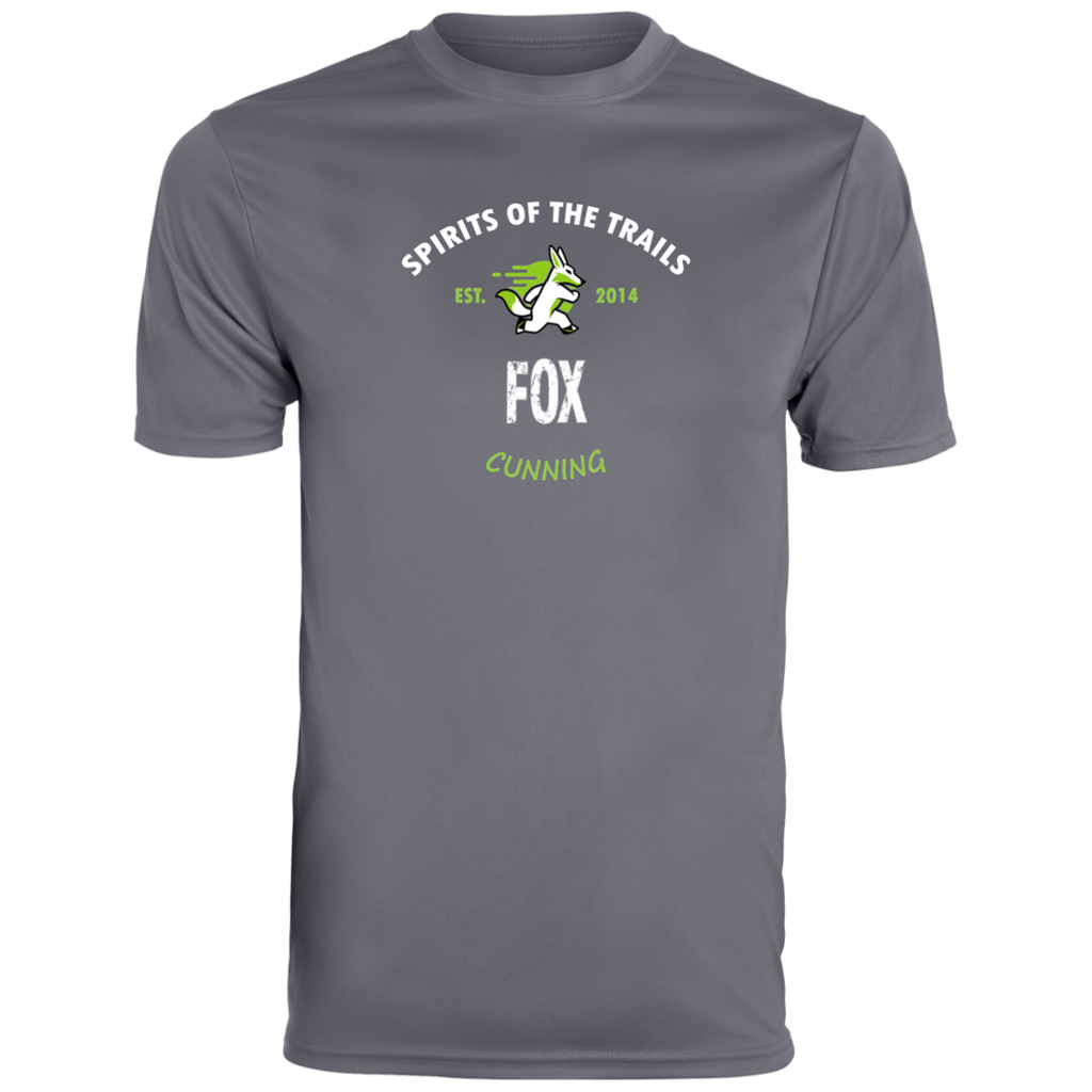 Fox - Est. 2014 Men's Moisture Wicking T-Shirt - Ultrakoala Trial, Hiking, Biking and Camping Gear
