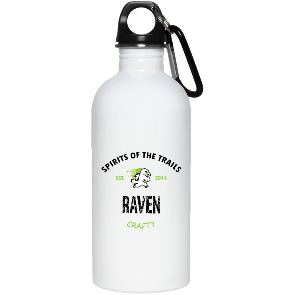 Raven - Est. 2014 20 oz. Stainless Steel Water Bottle