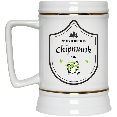 Chipmunk - Medallion Beer Stein 22oz.
