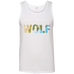 Wolf - Men's 100% Ringspun Cotton Tank Top