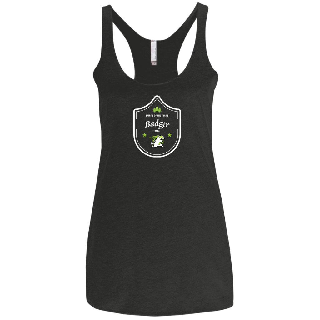 Badger - Medallion Ladies' Triblend Racerback Tank - Ultrakoala Trial, Hiking, Biking and Camping Gear