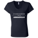 Awesome Armadillo - Ladies' Jersey V-Neck T-Shirt - Ultrakoala Trial, Hiking, Biking and Camping Gear