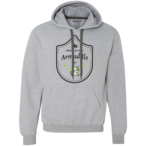 Armadillo - Spirits Of The Trails Men's Heavyweight Pullover Fleece Sweatshirt - Ultrakoala Trial, Hiking, Biking and Camping Gear