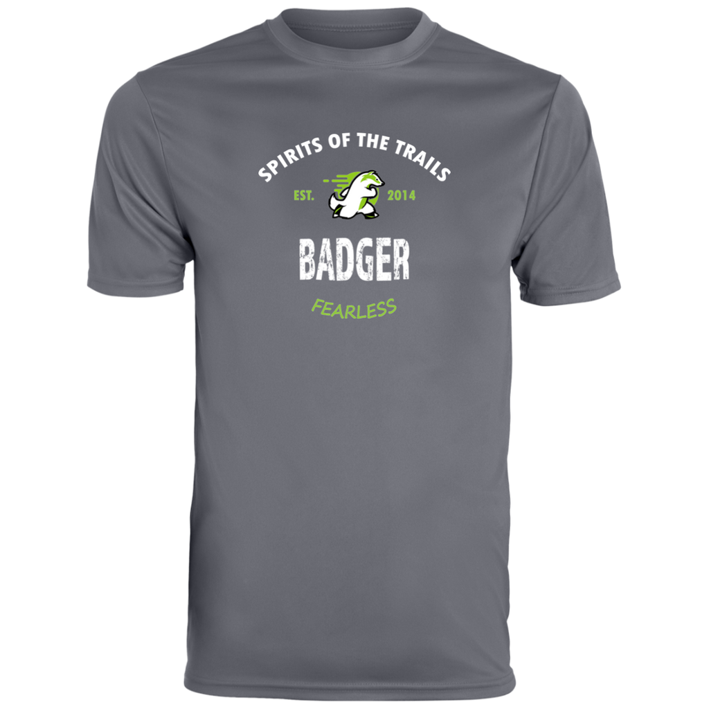 Badger - Est. 2014 Men's Moisture Wicking T-Shirt - Ultrakoala Trial, Hiking, Biking and Camping Gear
