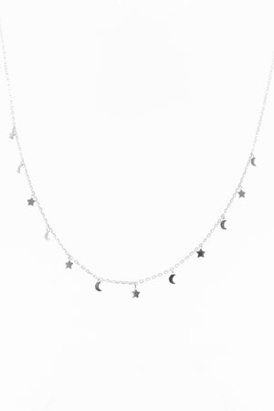 Moon & Star Chain